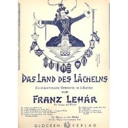Lehár, Franz: Meine Liebe deine Liebe aus Das Land des Lächelns : Duett für Gesang und Klavier