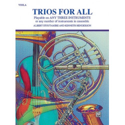 Trios for All : for 3 violas score