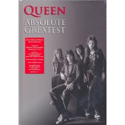 Queen Absolute Greatest : 2 CD deluxe photo book edition