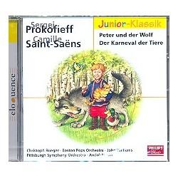 Prokofieff, Serge: Peter und der Wolf und Der Karneval der Tiere (Saint-Saens) : CD