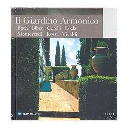 Il Giardino Armonico : 11 CD's Bach, Biber, Corelli, Locke, Monteverdi, Rossi, Vivaldi