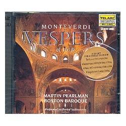 Monteverdi, Claudio: Vespers of 1610 : CD