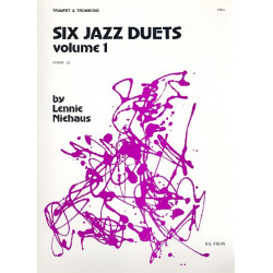 Niehaus, Lennie: 6 Jazz Duets vol.1 : for trumpet and trombone