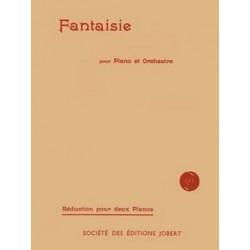 Debussy, Claude: Fantaisie pour piano et orchestre : pour 2 pianos