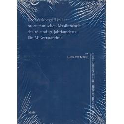 Lösch, Heinz von: Der Werkbegriff in der Protestantischen Musiktheorie des 16. und 17. Jahrhunderts Ein Mißverständnis