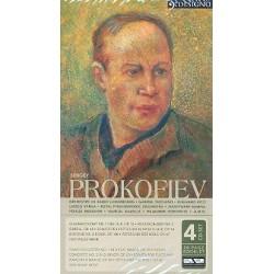 Prokofieff, Serge: 4 CD-Set, 20 Seiten Booklet