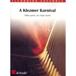 Sparke, Philip: A Klezmer Karnival : für Akkordeonorchester Partitur+Stimmen