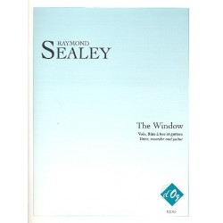 Sealey, Raymond: The Window for voice, recorder and guitar score and parts