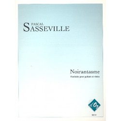 Sasseville, Pascal: Noirantasme : pour guitare et violon partition et parties