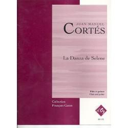 Cort├®s, Juan Manuel: la Danza de Selene : pour fl├╗te et guitare partition et parties