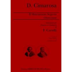 Cimarosa, Domenico: Il Matrimonio segreto : ouverture per flauto e chitarra