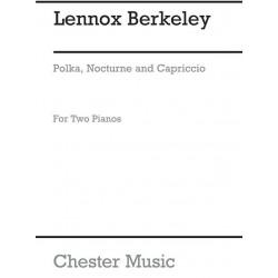 Berkeley, Lennox: Polka, Nocturne and Capriccio op.5 : for 2 pianos 2scores V E R L A G S K O P I E