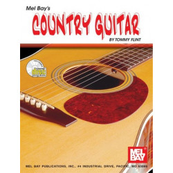 Flint, Tommy: Country Guitar (+CD)