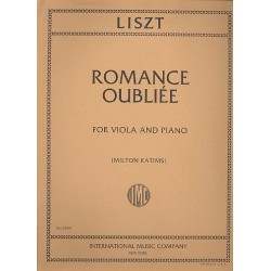 Liszt, Franz: Romance Oubliée : for viola and piano