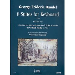 Händel, Georg Friedrich: 8 Suites HWV426-433 : for keyboard