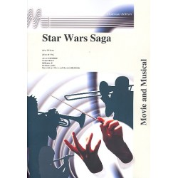Williams, John *1932: Star Wars Saga : for concert band full score