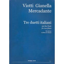 3 Duetti italiani : per 2 flauti