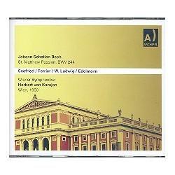 Bach, Johann Sebastian: Matthäus-Passion BWV244 : CD