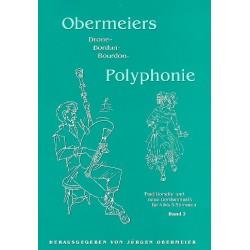 Obermeiers Bordun-Polyphonie Band 3 : Traditionelle und neue Bordunmusik für 4-5 Stimmen, Partitur