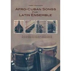 Hartmann, Harry: Afro Cuban Songs for Latin Ensemble vol.1 (+CD) : lyrics, melody in C, B, Es and bass instruments