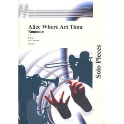 Ascher: Alice where art Thou : Romanze f├╝r Solo-Instrument in C (Bass- oder Vl-Schl), B oder Es und Klavier