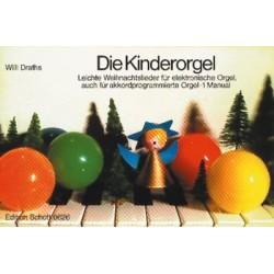 Die Kinderorgel : Leichte Weihnachtslieder (1 Manual)