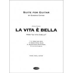 Piovani, Eugenio: Suite la vita è bella : for guitar