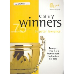 Easy Winners (+CD) : for treble brass (trumpet/trombone/euphonium)