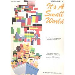 Sherman, Richard M.: It's a small World : for piano/vocal/guitar (en/sp/frz/dt/it)