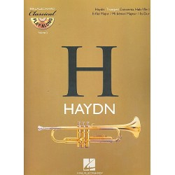Haydn, Franz Joseph: Konzert Es-Dur Hob.VIIe:I für Trompete und Orchester (+CD) : für Trompete