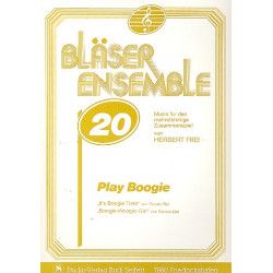 Bui, Renato: Play Boogie : f├╝r 3 Trompeten Partitur und Stimmen