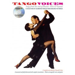 Tango Voices (+CD): Songbook vocal/guitar