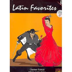Latin Favorites (+CD): for clarinet