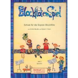 Beutler, Irmhild: Blockflötenspiel Band 2 : Schule für die Sopranblockflöte