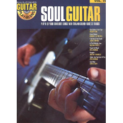 Soul Guitar (+CD) : guitar playalong vol.19 songbook vocal/guitar/tab