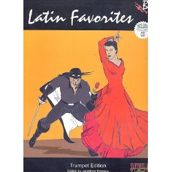 Latin Favorites (+CD): for trumpet