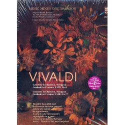 Vivaldi, Antonio: 2 Concertos for Bassoon, Strings and Cembalo (+2 CD's) : for bassoon