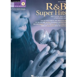 R & B Super Hits (+CD) : for male singers songbook vocal/guitar Pro Vocal Series