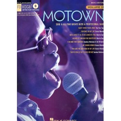 Motown (+CD) : for male singers songbook vocal/guitar Pro Vocal Series vol.38