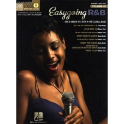 Easygoing R&B (+CD) : for female singers songbook vocal/guitar Pro Vocal Series vol.48