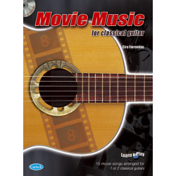Movie Music (+CD) : for guitar