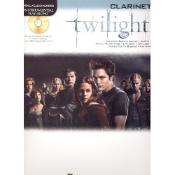 Twilight (+CD) : for clarinet