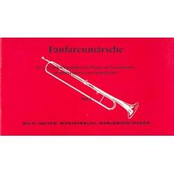 Fanfarenmärsche Band 1 : für 1-4 Fanfarentrompeten, Pauken und Trommel Partitur