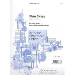 Berlin, Irving: Blue Skies : f├╝r 4 Posaunen Partitur und Stimmen