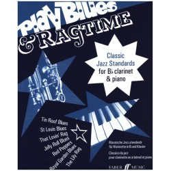 Play Blues and Ragtime : for clarinet and piano
