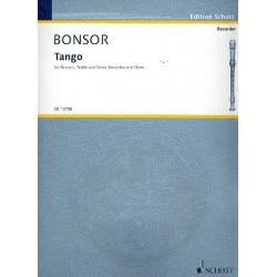 Bonsor, James Brian: Tango : for sa recorders score