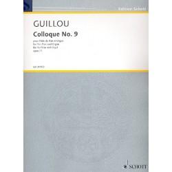 Guillou, Jean: Colloque Nr.9 op.71 : f├╝r Panfl├Âte und Orgel