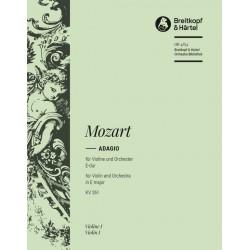 Mozart, Wolfgang Amadeus: Adagio E-Dur KV261 für Violine und Orchester Violine 1