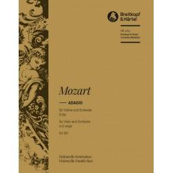 Mozart, Wolfgang Amadeus: Adagio E-Dur KV261 für Violine und Orchester Cello/Baß