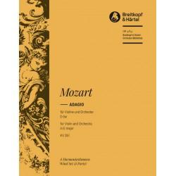 Mozart, Wolfgang Amadeus: Adagio E-Dur KV261 für Violine und Orchester Harmonie